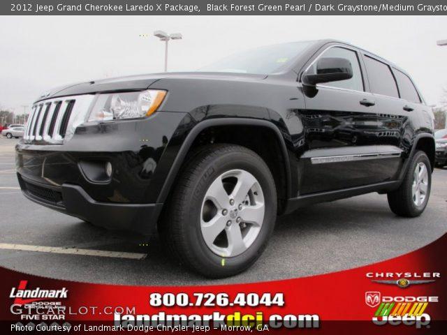 2012 Jeep Grand Cherokee Black