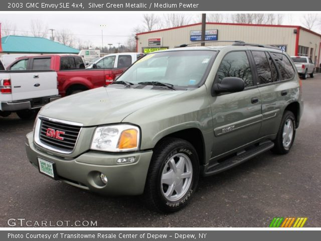 silver green metallic 2003 gmc envoy sle 4x4 medium. Black Bedroom Furniture Sets. Home Design Ideas