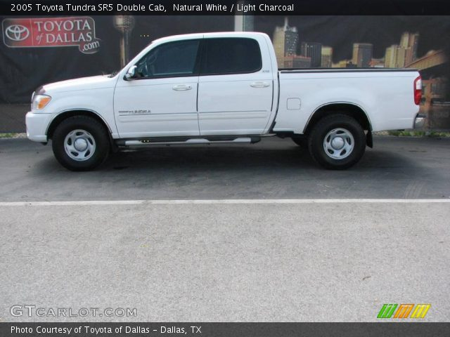 natural white 2005 toyota tundra sr5 double cab light charcoal interior. Black Bedroom Furniture Sets. Home Design Ideas
