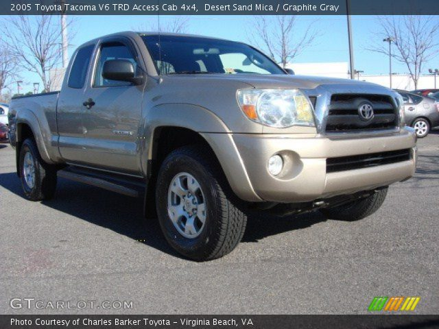 desert sand mica 2005 toyota tacoma v6 trd access cab. Black Bedroom Furniture Sets. Home Design Ideas