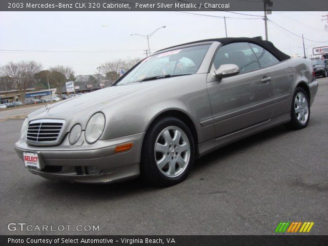 Pewter silver metallic 2003 mercedes benz clk 320 for 2003 mercedes benz clk 320