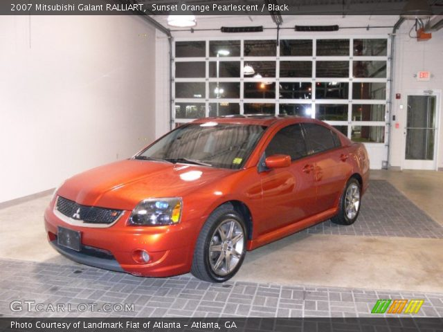 2007 Mitsubishi Galant RALLIART in Sunset Orange Pearlescent