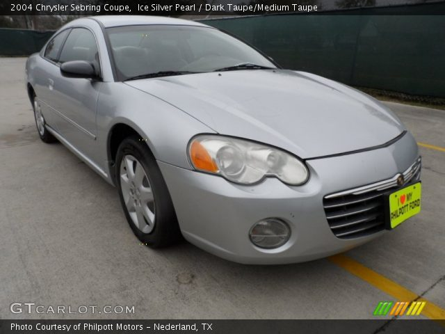 2004 Chrysler Sebring Coupe in Ice Silver Pearl. Click to see large ...