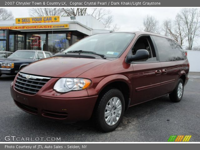 Cognac crystal pearl 2007 chrysler town country lx for Stone s town country motors