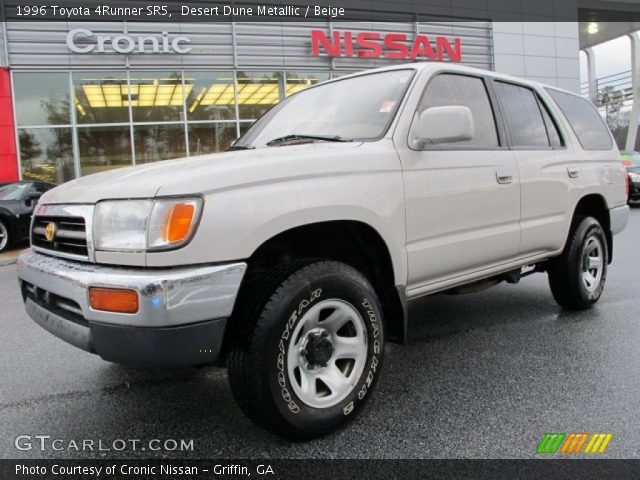 desert dune metallic 1996 toyota 4runner sr5 beige. Black Bedroom Furniture Sets. Home Design Ideas