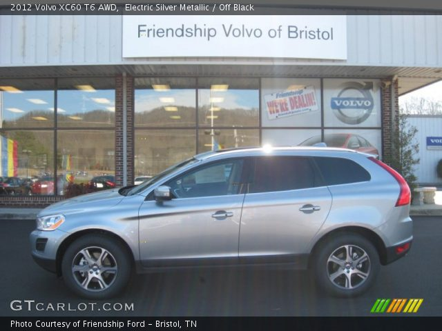 2012 Volvo XC60 T6 AWD in Electric Silver Metallic