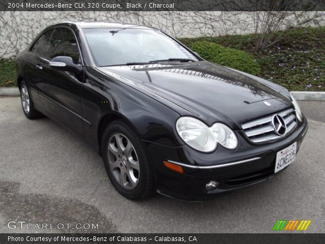 black 2004 mercedes benz clk 320 coupe charcoal. Black Bedroom Furniture Sets. Home Design Ideas