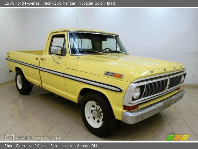 yucatan gold 1970 ford f series truck f250 ranger. Black Bedroom Furniture Sets. Home Design Ideas