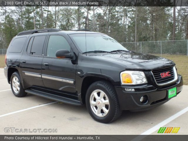 onyx black 2003 gmc envoy xl slt medium pewter. Black Bedroom Furniture Sets. Home Design Ideas