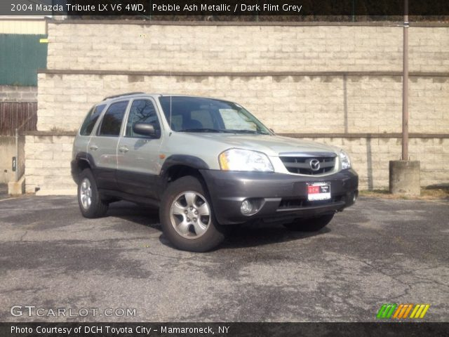 pebble ash metallic 2004 mazda tribute lx v6 4wd dark. Black Bedroom Furniture Sets. Home Design Ideas
