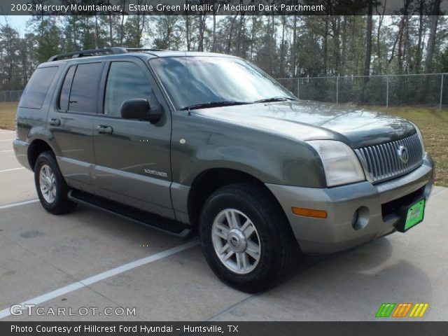 2002 Mercury Mountaineer  in Estate Green Metallic