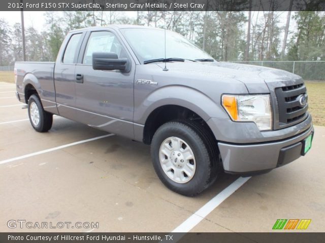 2012 Ford F150 STX SuperCab in Sterling Gray Metallic