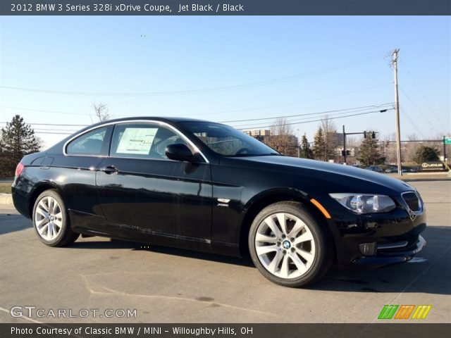 jet black 2012 bmw 3 series 328i xdrive coupe black interior vehicle. Black Bedroom Furniture Sets. Home Design Ideas