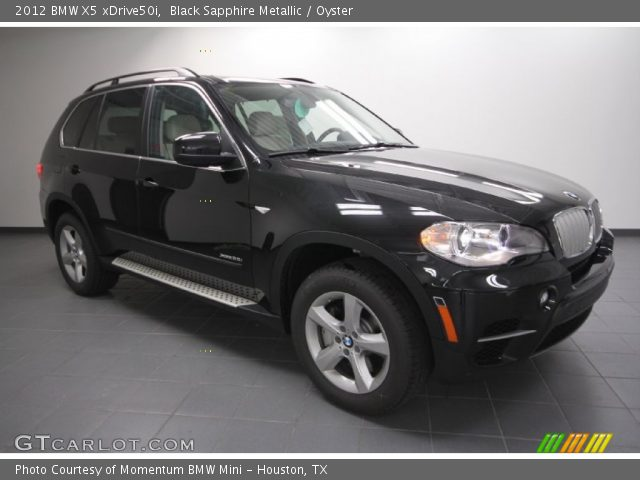 black sapphire metallic 2012 bmw x5 xdrive50i oyster interior vehicle. Black Bedroom Furniture Sets. Home Design Ideas