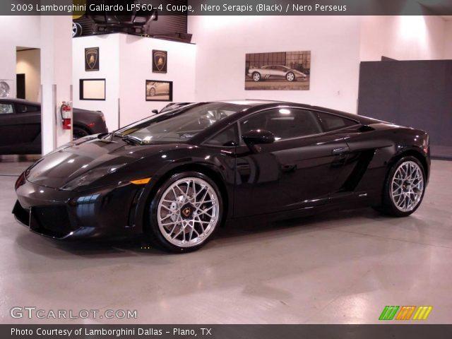 2009 Lamborghini Gallardo LP560-4 Coupe in Nero Serapis (Black)