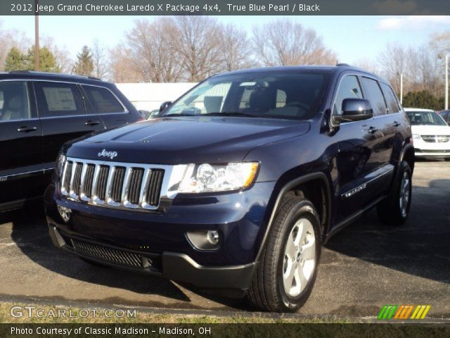 true blue pearl 2012 jeep grand cherokee laredo x package 4x4 with. Cars Review. Best American Auto & Cars Review