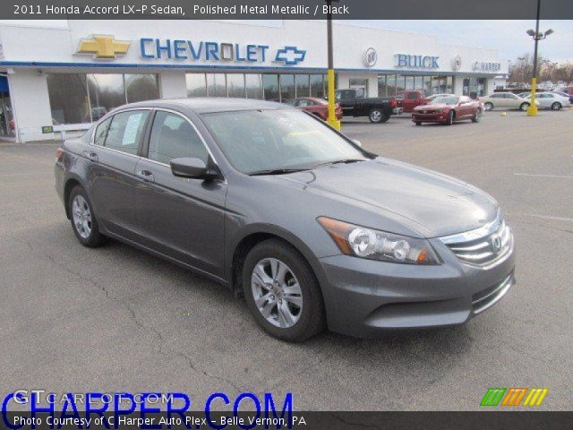 Polished Metal Metallic 2011 Honda Accord Lx P Sedan