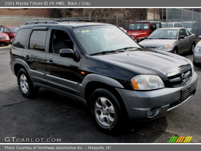 black 2001 mazda tribute es v6 4wd gray interior. Black Bedroom Furniture Sets. Home Design Ideas