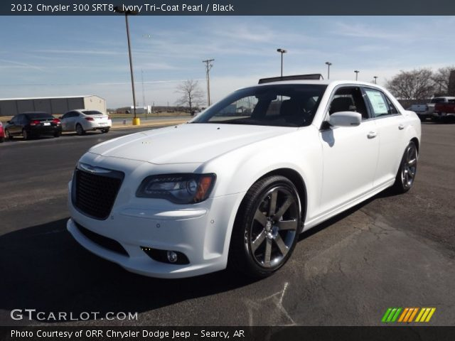 2012 Chrysler 300 SRT8 in Ivory Tri-Coat Pearl