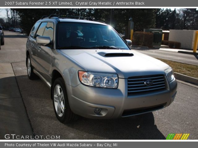 Crystal Gray Metallic 2007 Subaru Forester 25 Xt Limited