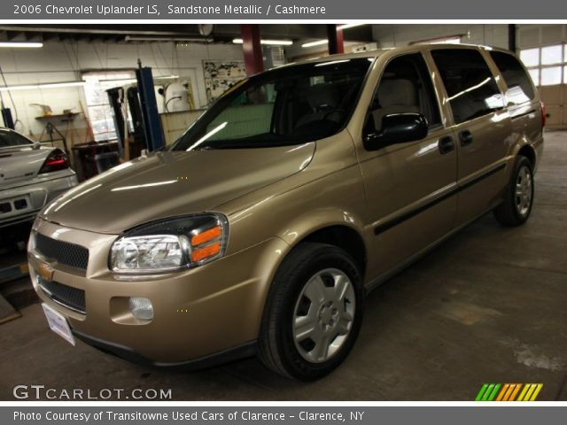 sandstone metallic 2006 chevrolet uplander ls cashmere. Black Bedroom Furniture Sets. Home Design Ideas