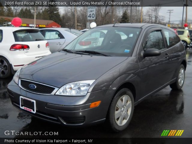 liquid grey metallic 2006 ford focus zx3 se hatchback. Black Bedroom Furniture Sets. Home Design Ideas