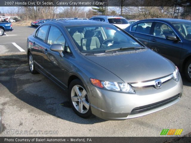 2007 honda civic ex sedan in galaxy gray metallic click to see large. Black Bedroom Furniture Sets. Home Design Ideas