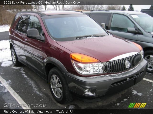 Medium red 2002 buick rendezvous cx dark gray interior - Buick rendezvous interior dimensions ...