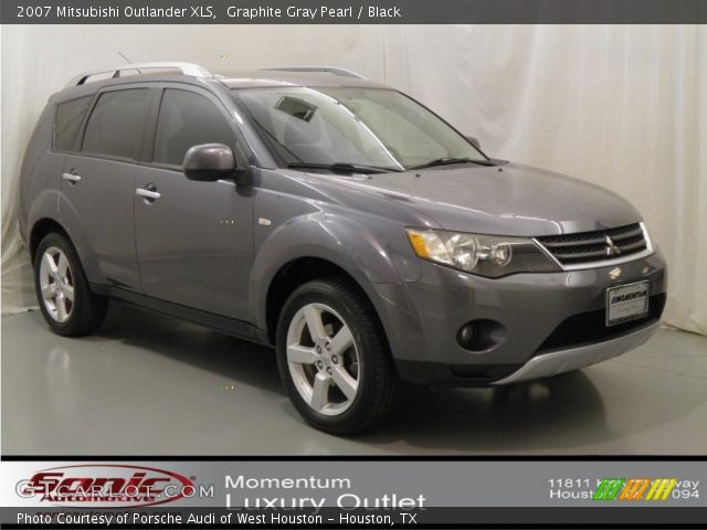 graphite gray pearl 2007 mitsubishi outlander xls. Black Bedroom Furniture Sets. Home Design Ideas