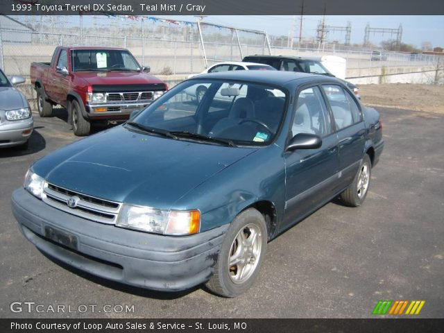 1993 Toyota Tercel DX Sedan in Teal Mist