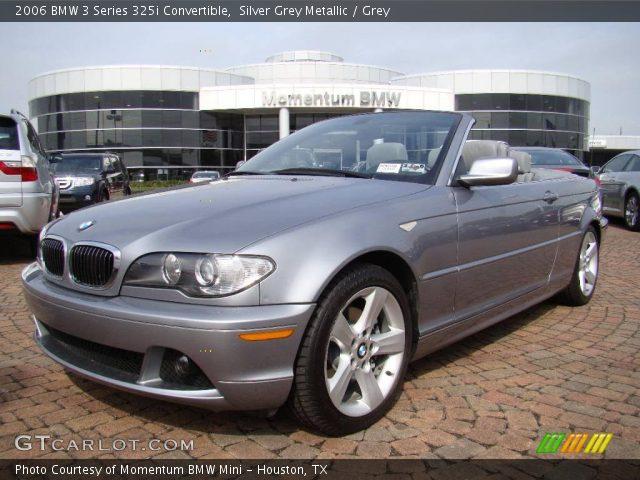 2006 BMW 3 Series 325i Convertible in Silver Grey Metallic