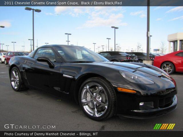 Black 2011 Chevrolet Corvette Grand Sport Coupe Ebony
