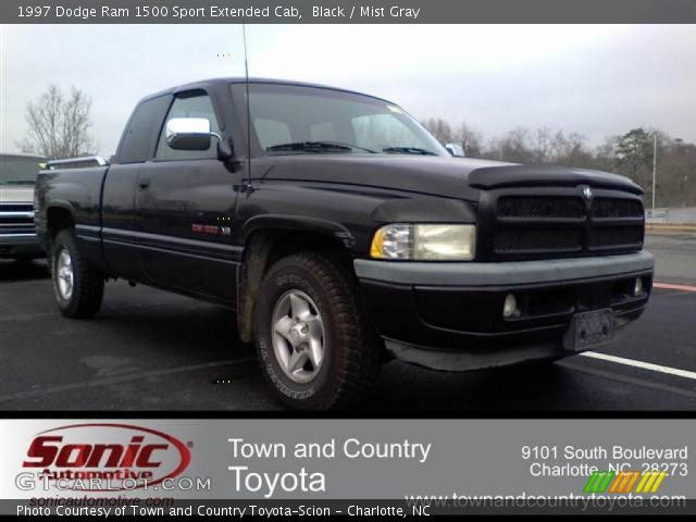 black 1997 dodge ram 1500 sport extended cab mist gray interior vehicle. Black Bedroom Furniture Sets. Home Design Ideas