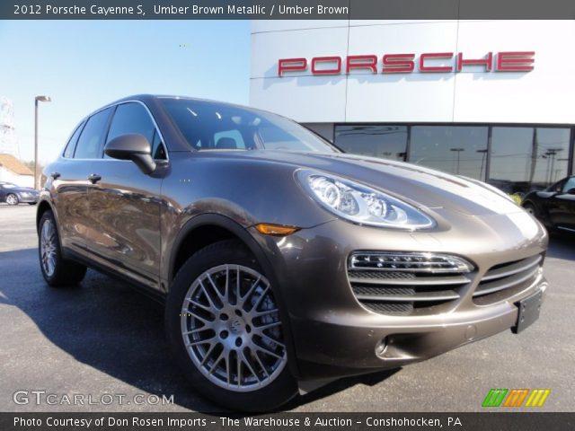2012 Porsche Cayenne S in Umber Brown Metallic