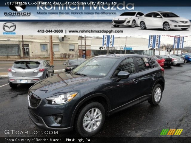2013 Mazda CX-5 Touring AWD in Metropolitan Gray Mica