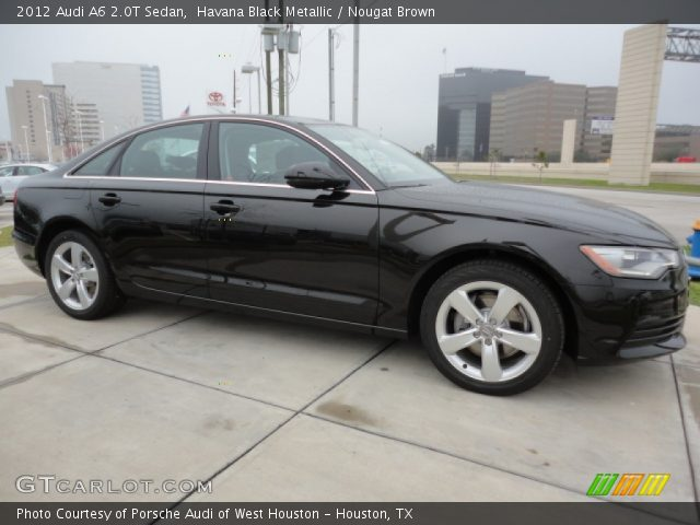 2012 Audi A6 2.0T Sedan in Havana Black Metallic