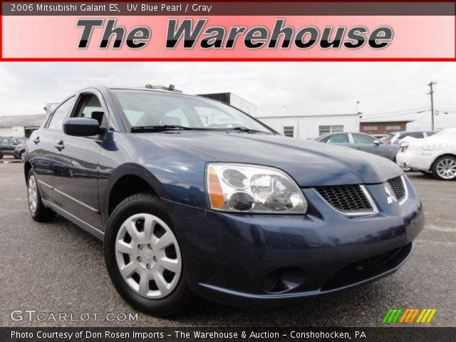 uv blue pearl 2006 mitsubishi galant es gray interior. Black Bedroom Furniture Sets. Home Design Ideas