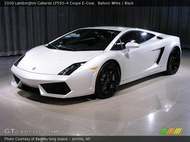 2009 Lamborghini Gallardo LP560-4 Coupe E-Gear in Balloon White