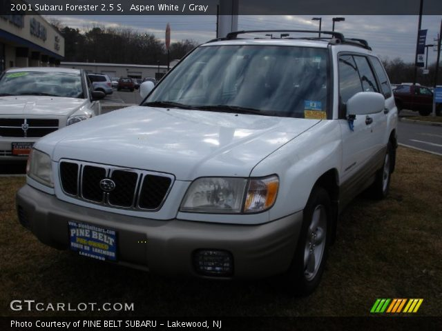 aspen white 2001 subaru forester 2 5 s gray interior gtcarlot com vehicle archive 61761104 aspen white 2001 subaru forester 2 5 s gray interior gtcarlot com vehicle archive 61761104
