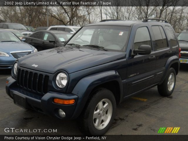 2008 Jeep Liberty For Sale >> Patriot Blue Pearlcoat - 2002 Jeep Liberty Limited 4x4 - Taupe Interior | GTCarLot.com - Vehicle ...