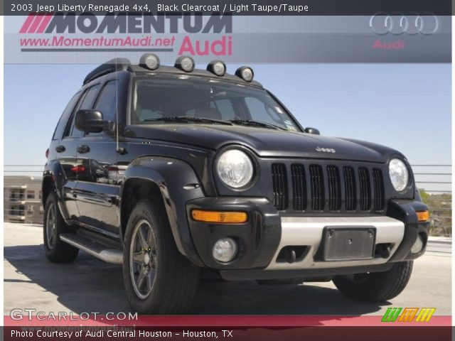 black clearcoat 2003 jeep liberty renegade 4x4 light. Black Bedroom Furniture Sets. Home Design Ideas