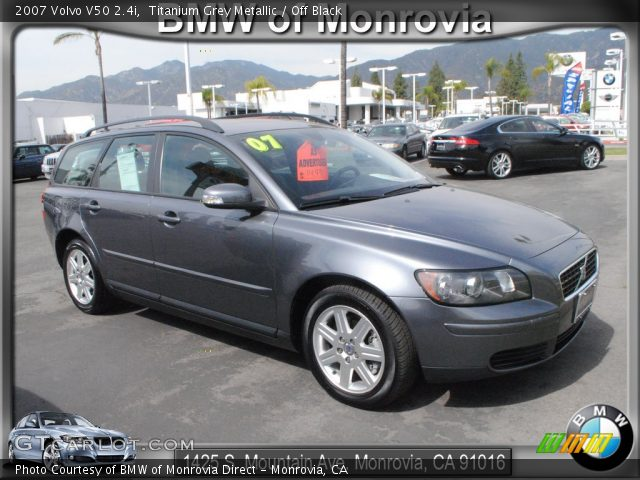 2007 Volvo V50 2.4i in Titanium Grey Metallic. Click to see large ...