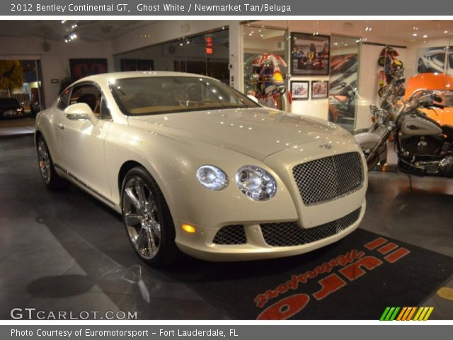 2012 Bentley Continental GT  in Ghost White