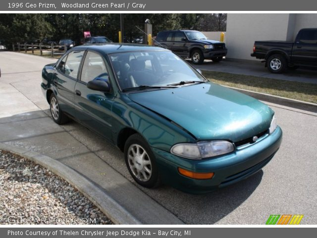 1996 Geo Prizm  in Woodland Green Pearl