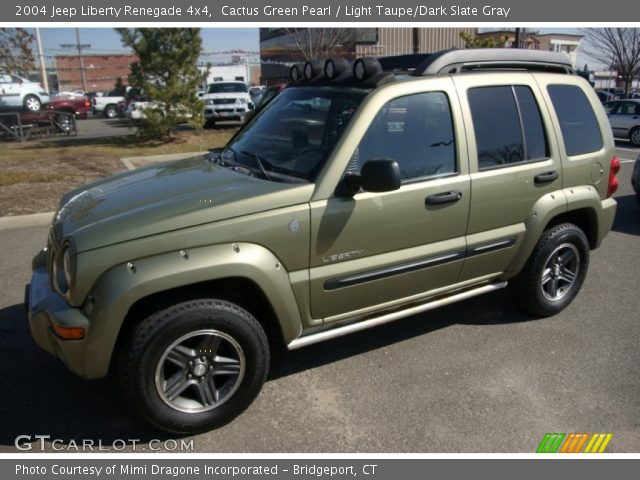cactus green pearl 2004 jeep liberty renegade 4x4. Black Bedroom Furniture Sets. Home Design Ideas