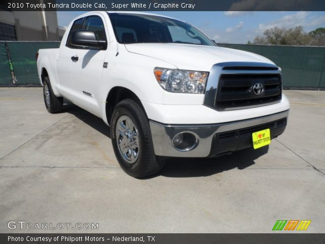 super white 2010 toyota tundra double cab graphite. Black Bedroom Furniture Sets. Home Design Ideas