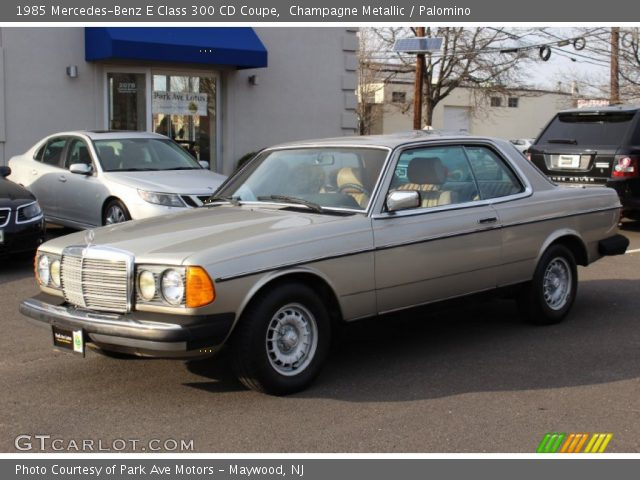 1985 Mercedes-Benz E Class 300 CD Coupe in Champagne Metallic
