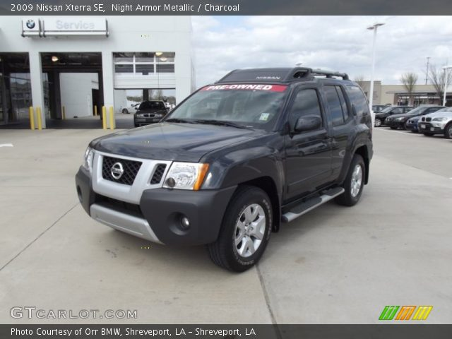 night armor metallic 2009 nissan xterra se charcoal. Black Bedroom Furniture Sets. Home Design Ideas