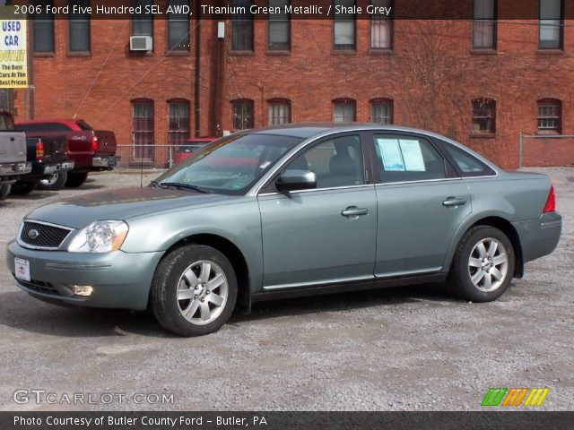 titanium green metallic 2006 ford five hundred sel awd shale grey interio. Cars Review. Best American Auto & Cars Review