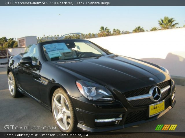 black 2012 mercedes benz slk 250 roadster sahara beige interior vehicle. Black Bedroom Furniture Sets. Home Design Ideas